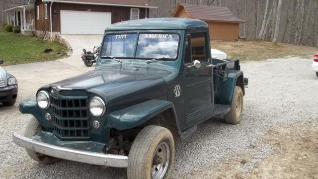 1950 willis jeep pickup truck for sale in knoxville tennessee classified. Black Bedroom Furniture Sets. Home Design Ideas