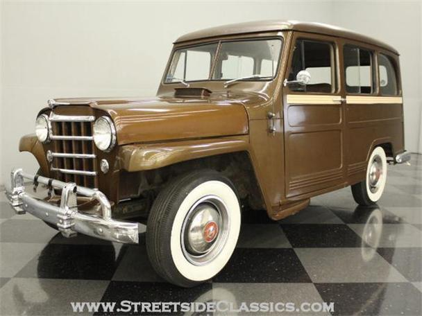1950 Willys Wagoneer