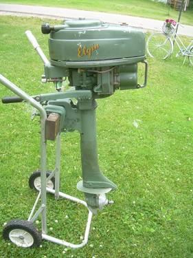 1950 5hp elgin outboard motor for sale in antioch for 5hp outboard motor for sale
