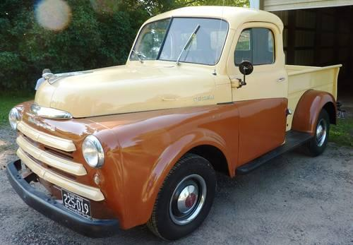 1950 dodge 1 2 ton pickup for sale in prior lake minnesota classified. Black Bedroom Furniture Sets. Home Design Ideas