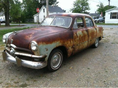 1950 ford 4 door 6 flat head for sale in osgood indiana for 1950 ford 4 door