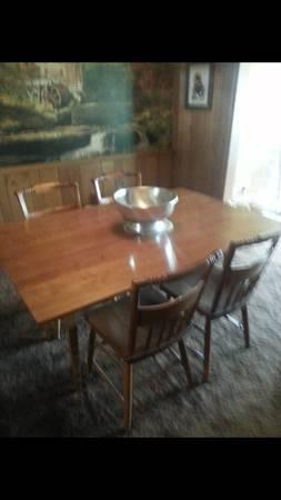 1950s-60s Beautiful Dining Room Set. SOLID MAPLE and