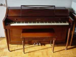 1950s Baldwin Acrosonic Upright Piano - $175 (ABQ)