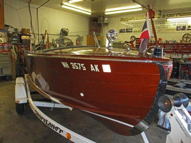 1951 20ft Century Resorter Mahogany Runabout for Sale in Meredith