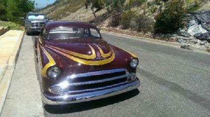 1951 Chevrolet Chopped Hotrod with free shipping Chevy 350 V8