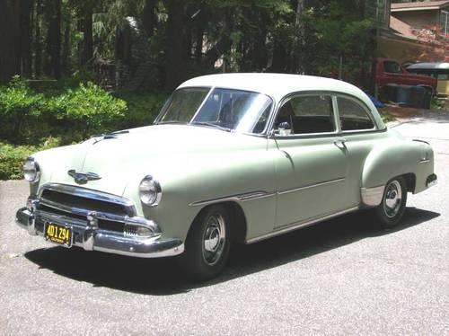 1951 deluxe chevy 2 door sedan daily driver for sale in for 1951 chevy 2 door coupe