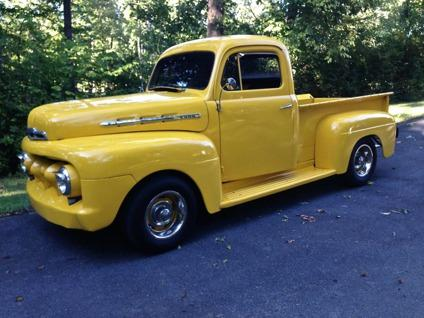 1951 ford f 1 short bed pickup truck for sale in greenville south carolina classified. Black Bedroom Furniture Sets. Home Design Ideas