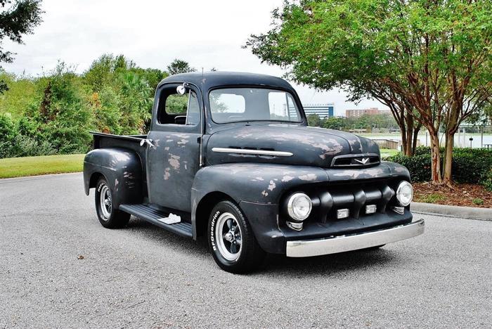 1951 ford pickups custom ratrod patina stepside truck for sale in clarksville tennessee. Black Bedroom Furniture Sets. Home Design Ideas