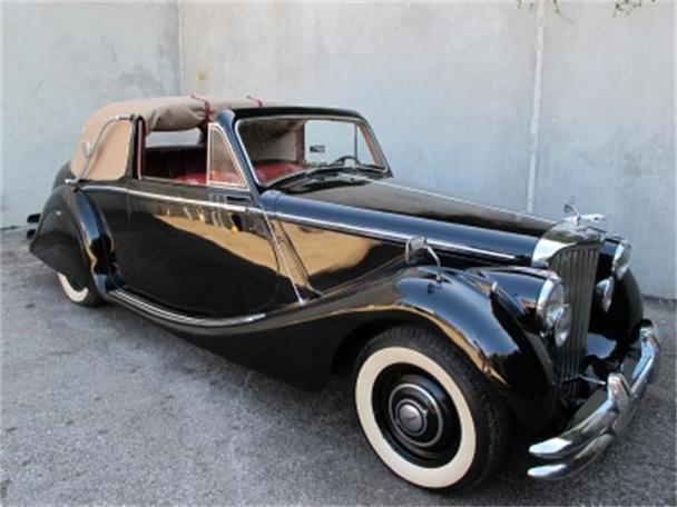 1951 Jaguar Mark V for Sale in Beverly Hills, California ...