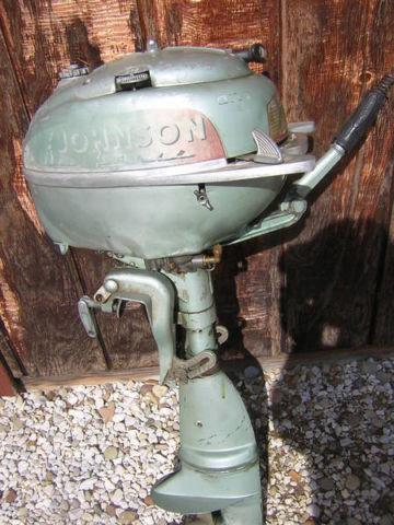 1951 johnson 5 hp outboard motor for sale in drakesburg for New johnson boat motors for sale