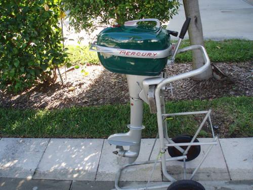 1951 vintage mercury outboard motor 5 h p for sale in for Mercury outboard motors for sale in florida