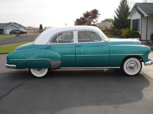 1952 chevy 4 door deluxe for sale in burbank washington