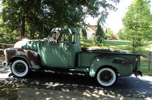 1952 chevy 5 window 1 2 ton stepside pickup truck for sale for 1952 5 window chevy pickup for sale