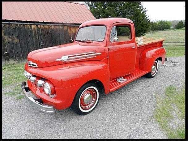 1952 ford pickup for sale in hickory north carolina classified. Black Bedroom Furniture Sets. Home Design Ideas