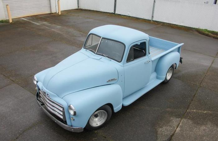 1952 gmc chevy pickup 5 window shop hotrod swb truck for 1952 chevy 3100 5 window for sale