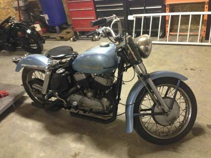 1952 Harley-Davidson K MODEL FIRST YEAR