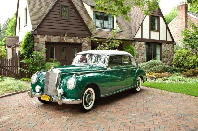1952 mercedes benz 300d adenauer convertible for sale in for Mercedes benz henrietta ny
