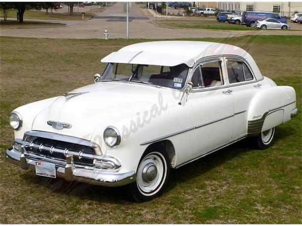 1952 chevrolet styleline deluxe for sale in arlington texas classified. Black Bedroom Furniture Sets. Home Design Ideas
