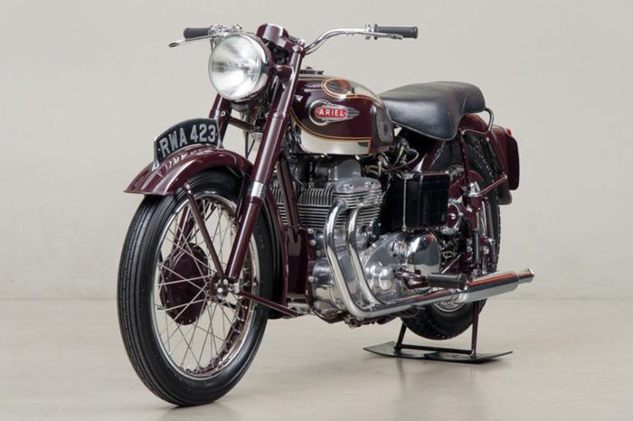 1953 Ariel Square Four Price On Request