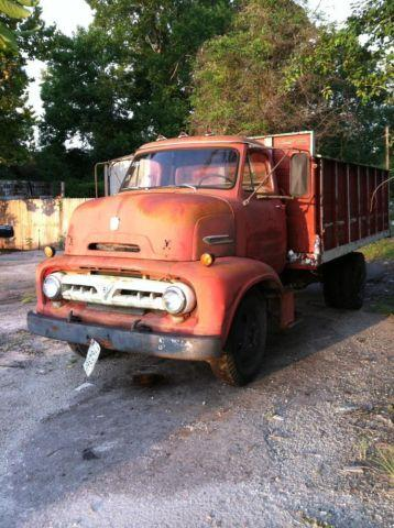 1953 C600 FORD TRUCK RAT ROD CABOVER VINTAGE AS IS