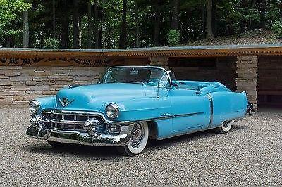 1953 Cadillac Eldorado Convertible #448 of 532 Built for Sale in Los