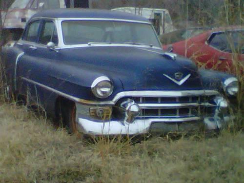 1953 cadillac sedan blue for sale in springfield missouri classified. Black Bedroom Furniture Sets. Home Design Ideas