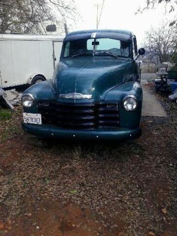1953 Chevrolet 1/2 ton Truck -manual- new rebuilt 1959