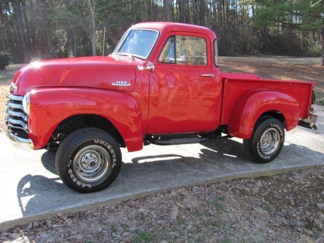 1953 Chevrolet 3100 4X4 350 Automatic