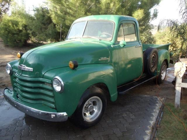 1953 Chevy Truck For Sale In Fallbrook California