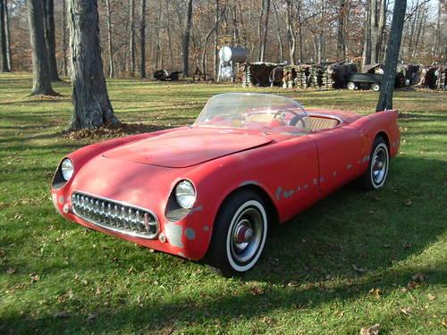 1953 corvette replica for sale in covington indiana classified. Black Bedroom Furniture Sets. Home Design Ideas