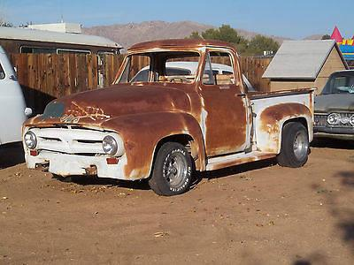 1953 f 100 ford truck 54 55 56 project short bed for sale in apple valley california classified. Black Bedroom Furniture Sets. Home Design Ideas