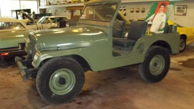 Jeeps For Sale In Tn >> 1953 Jeep Willys Army Jeep - 4 Wheel Drive - Fun to Drive