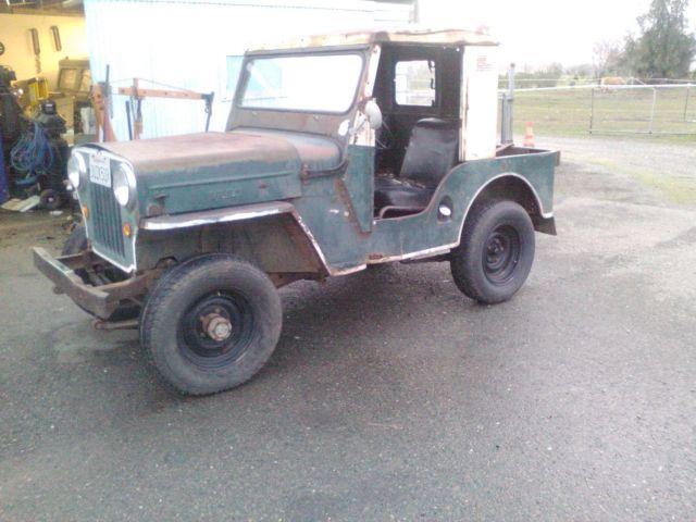 Auto Parts For Sale Redding California: 1953 Jeep Willys CJ3B For Sale In Arboga, California