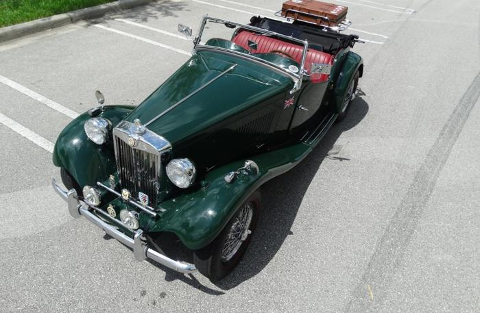 1953 MG T-Series Roadster