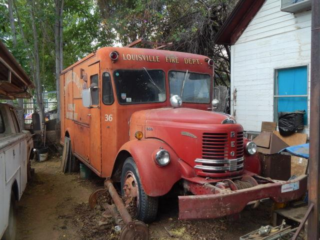 1953 Reo Fire Truck For Sale In Riverside California