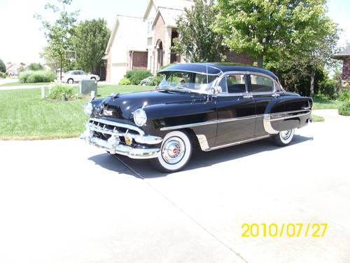 1954 chevrolet bel air 4 door for sale in park city for 1954 belair 4 door