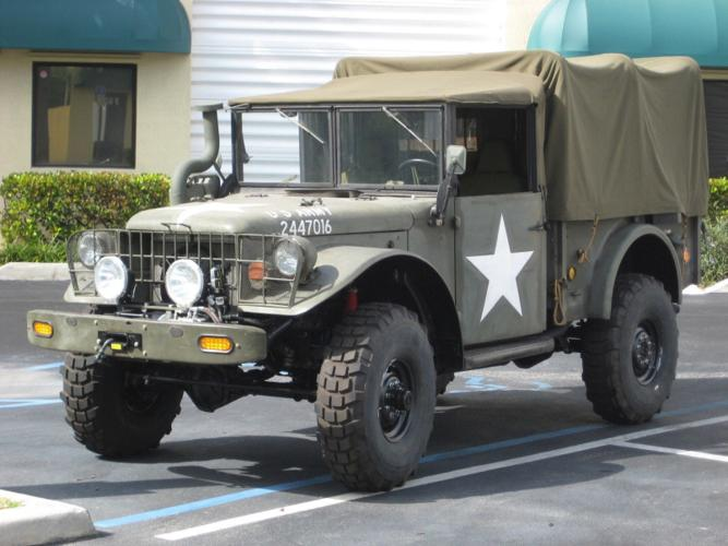 1954 Dodge Classic 4x4 Off Road M37 Military Army Monster