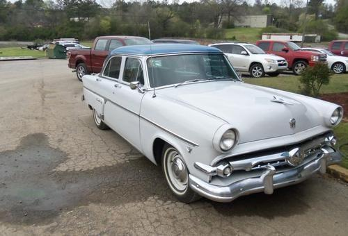 1954 ford crestline 4 door for sale in union grove for 1954 ford customline 4 door