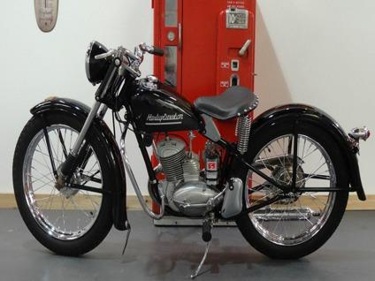 1954 Harley Davidson Hummer 165 50th Anniversary Top For