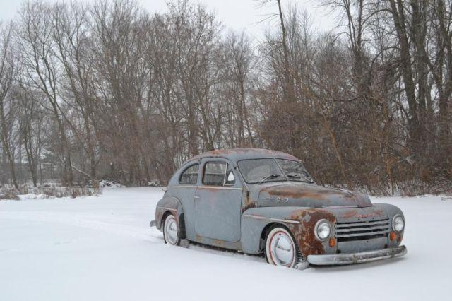 1954 Volvo Pv 444 Hot Rod Project For Sale In Eaton Rapids Michigan Classified Americanlisted Com