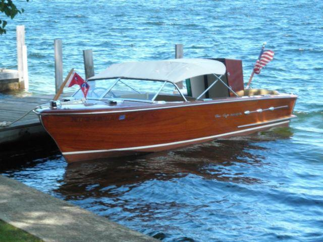 1955 18 39 chris craft continental with convertible top for for Action craft boat parts