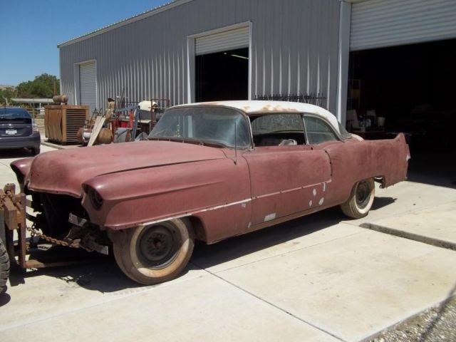 1955 cadillac 2dr project car for sale in hollister california classified. Black Bedroom Furniture Sets. Home Design Ideas