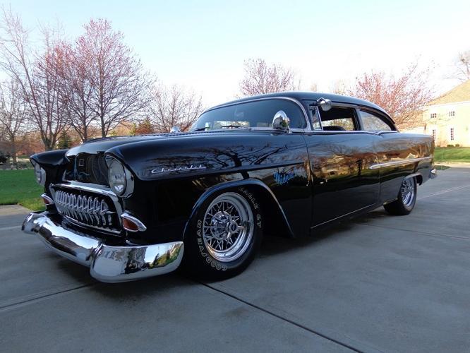 1955 Chevrolet Bel Air150210 Black For Sale In Kansas City Missouri