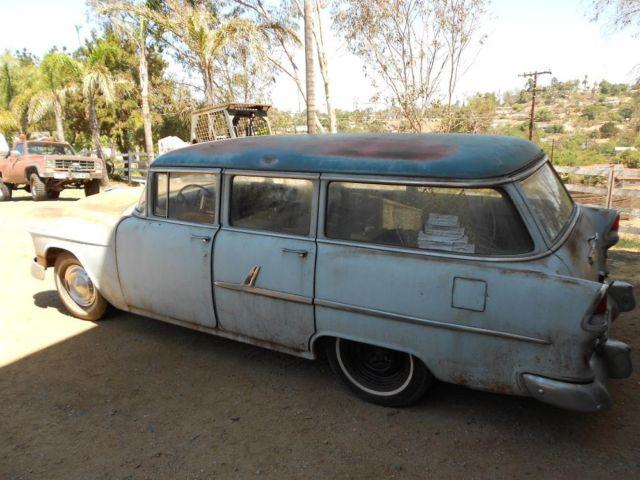 1955 chevy chevrolet 4 door wagon for sale in solana beach for 1955 chevy 4 door wagon