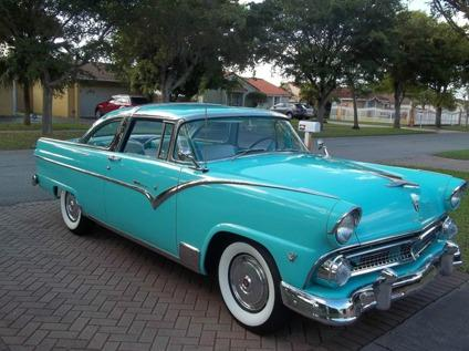 Five Star Ford Warner Robins >> 1955 Ford Fairlane Crown Victoria Restored Worldwide Delivery for Sale in Athens, Georgia ...