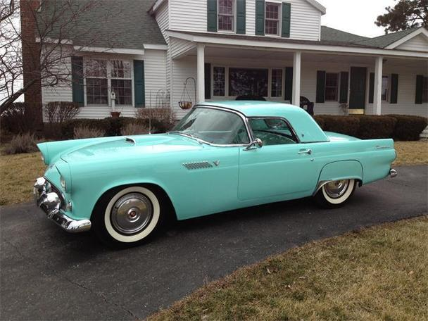 1955 ford thunderbird for sale in sylvania ohio classified. Black Bedroom Furniture Sets. Home Design Ideas