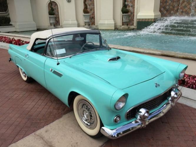 1955 ford thunderbird for sale in los angeles california classified. Black Bedroom Furniture Sets. Home Design Ideas