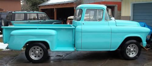 1955 gmc 3 4 ton big back window pickup for sale in agnew for 1955 gmc 5 window pickup for sale