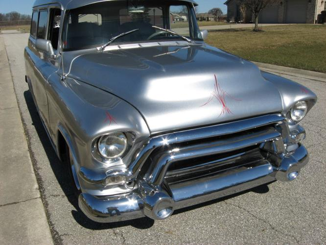 1955 Gmc Sububar Carryall Gray Automatic For Sale In Everett