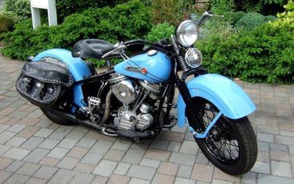 1955 Harley Davidson FL Panhead +Original Frame+